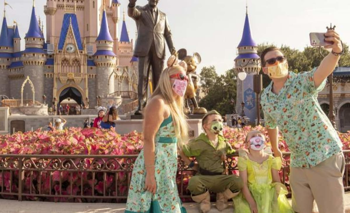 Mask requirements back in place beginning Friday at Walt Disney World