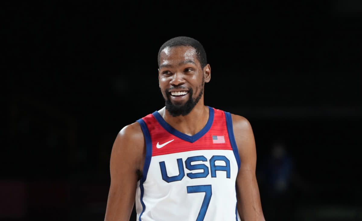 Durant Becomes All-Time U.S. Olympic Scoring Leader