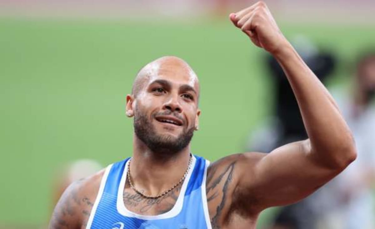 Italy's Jacobs wins shock 100m gold