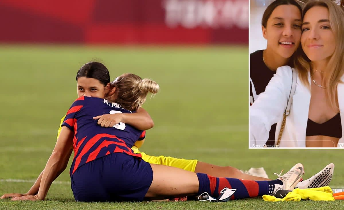 Kristie Mewis, Sam Kerr confirm relationship after Olympic photo sparked rumors