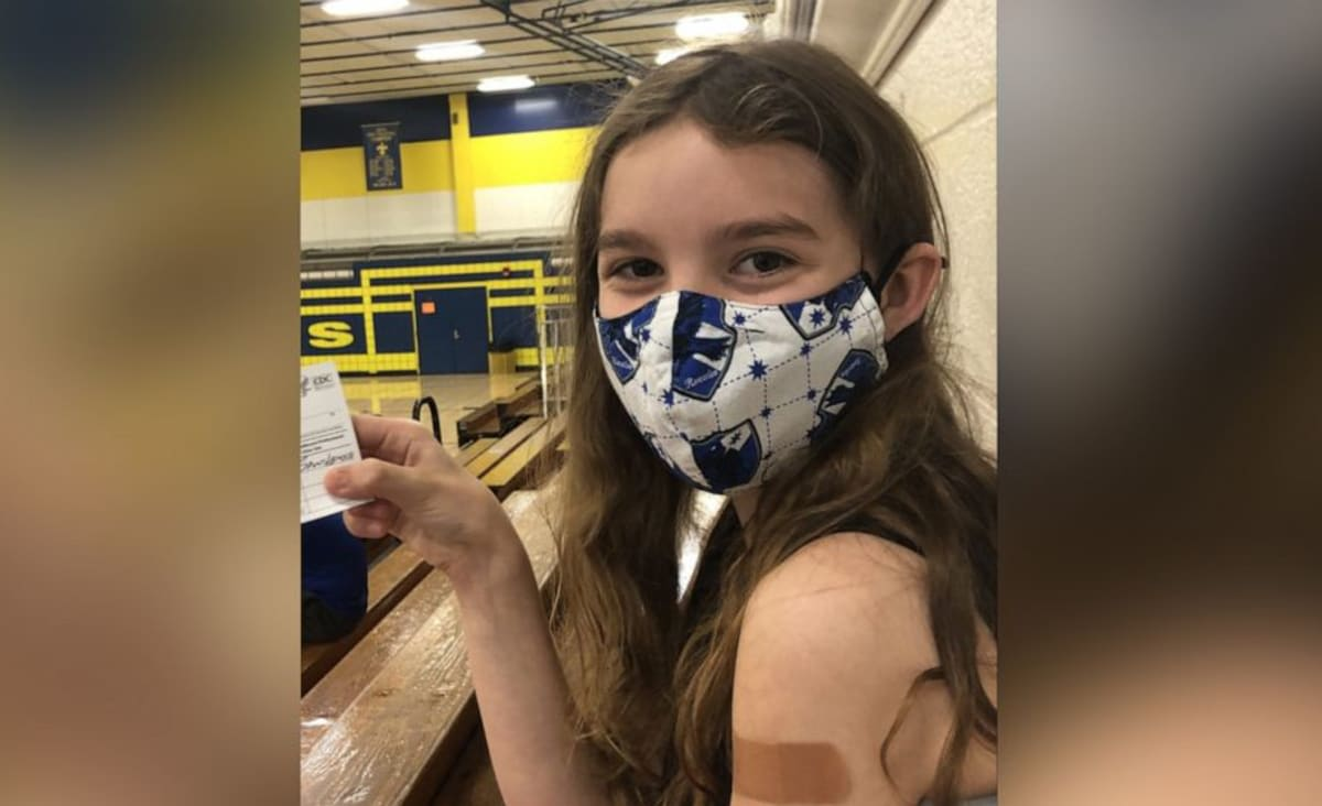 12-year-old fights for mask mandate in schools