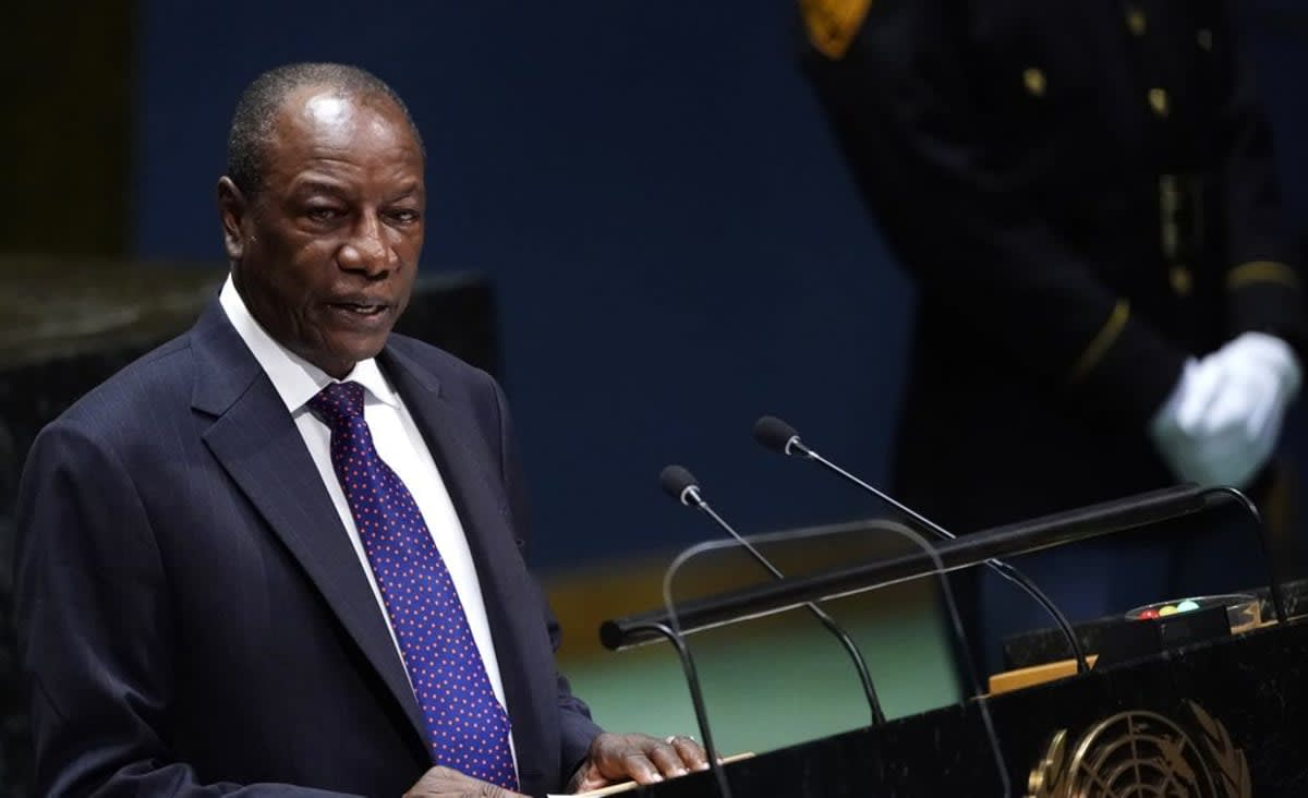 Two injured in heavy gunfire near Guinea's presidential palace