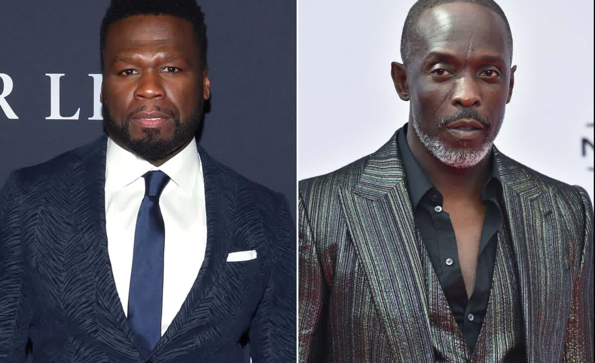 50 Cent ripped for using Michael K. Williams' death to promote TV show, liquor