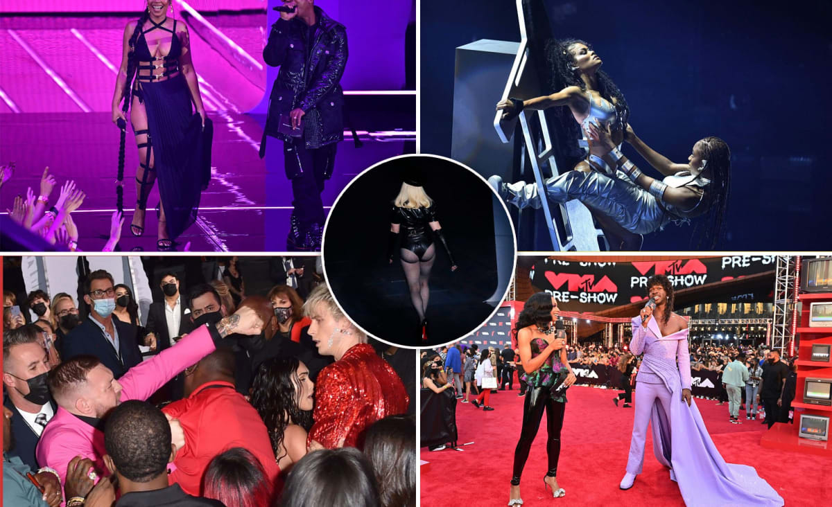 The best and worst moments from the 2021 VMAs: Madonna's butt and more