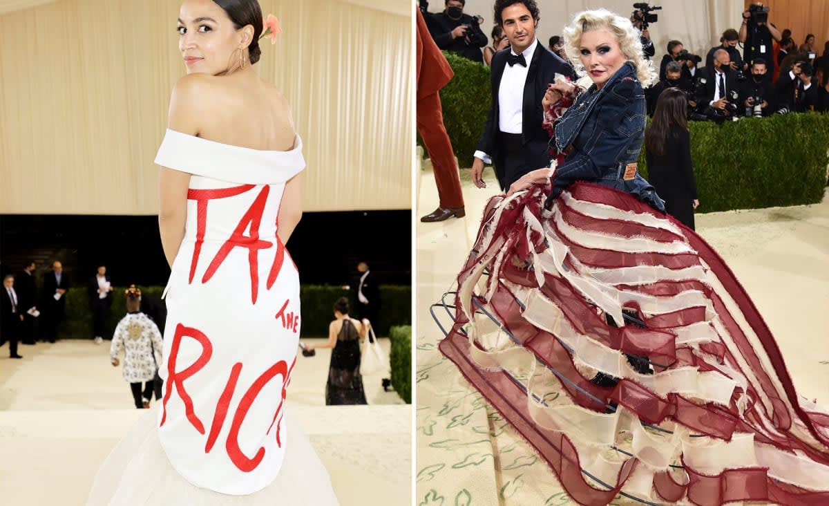 Activist A-listers walk all over Met Gala's America theme