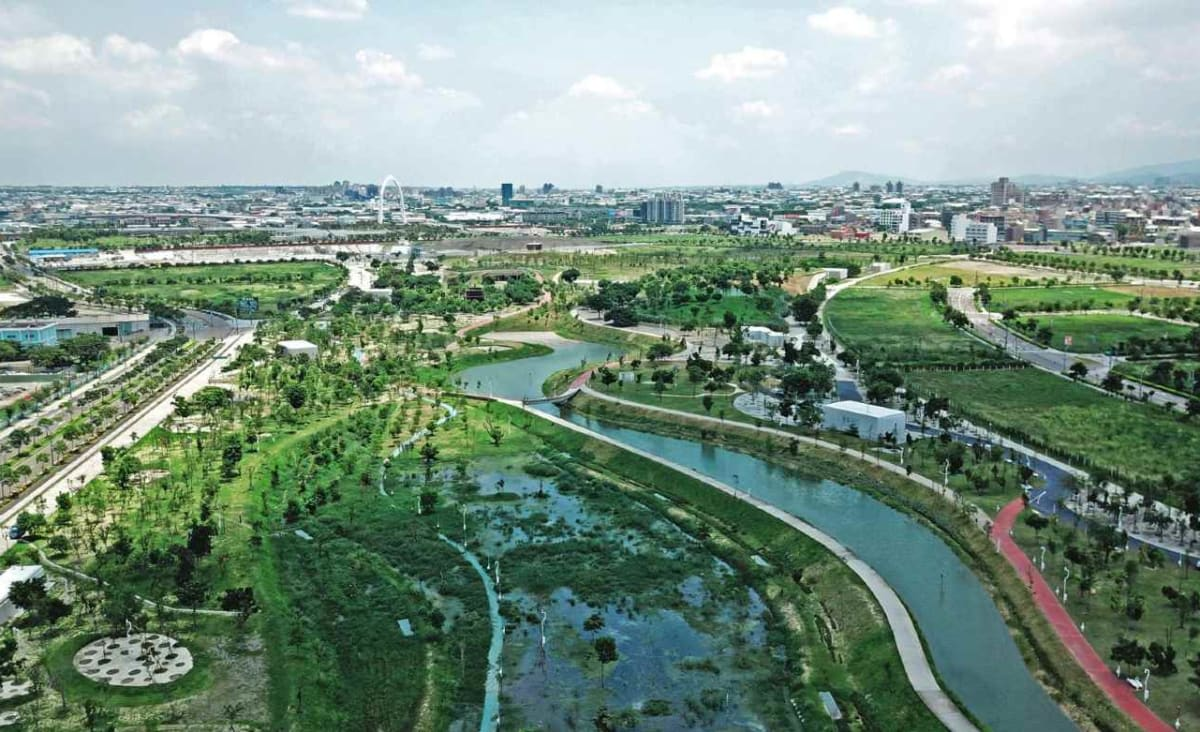 Abandoned Airport Turned into Sensory Experience Park Providing Green Refuge in Crowded Taiwan City