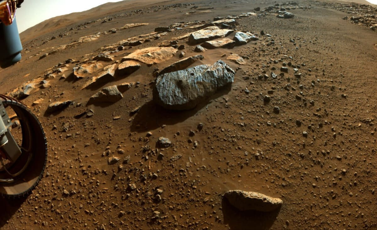 First Mars Rocks Reveal Planet Was Once Potentially Habitable
