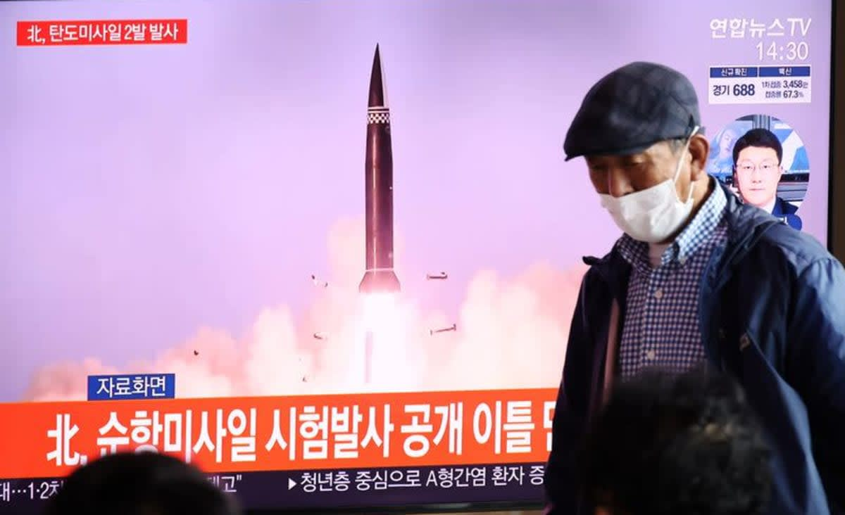 North and South Korea conduct duelling missile tests as arms race heats up