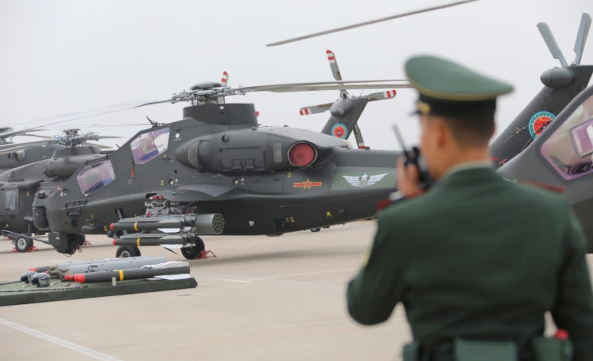 China shows off defense diplomacy with multinational peacekeeping drill