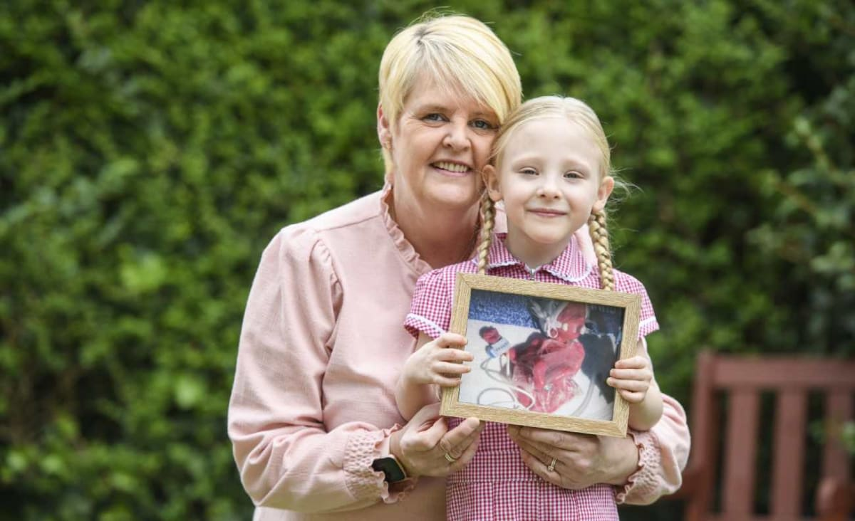 Premature Baby Born So Small it Was Kept Alive in a Sandwich Bag Has Defied the Odds to Start School
