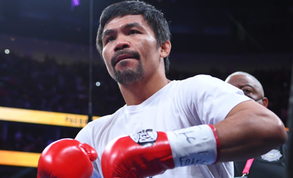 Philippine boxing star Manny Pacquiao running for president