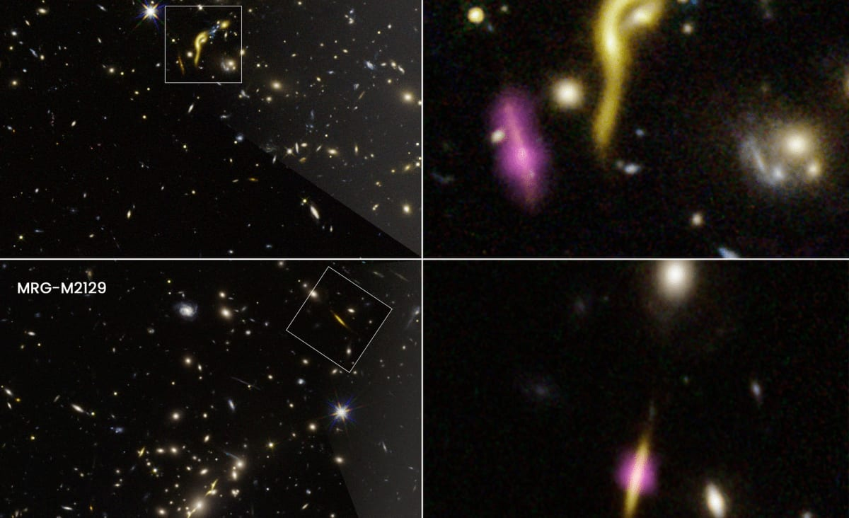 Hubble discovers 6 massive, dead galaxies from early universe