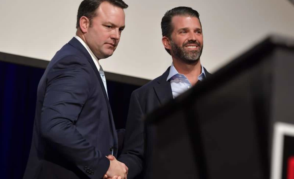 Georgia rally to mark debut of GOP primary 'Trump ticket'