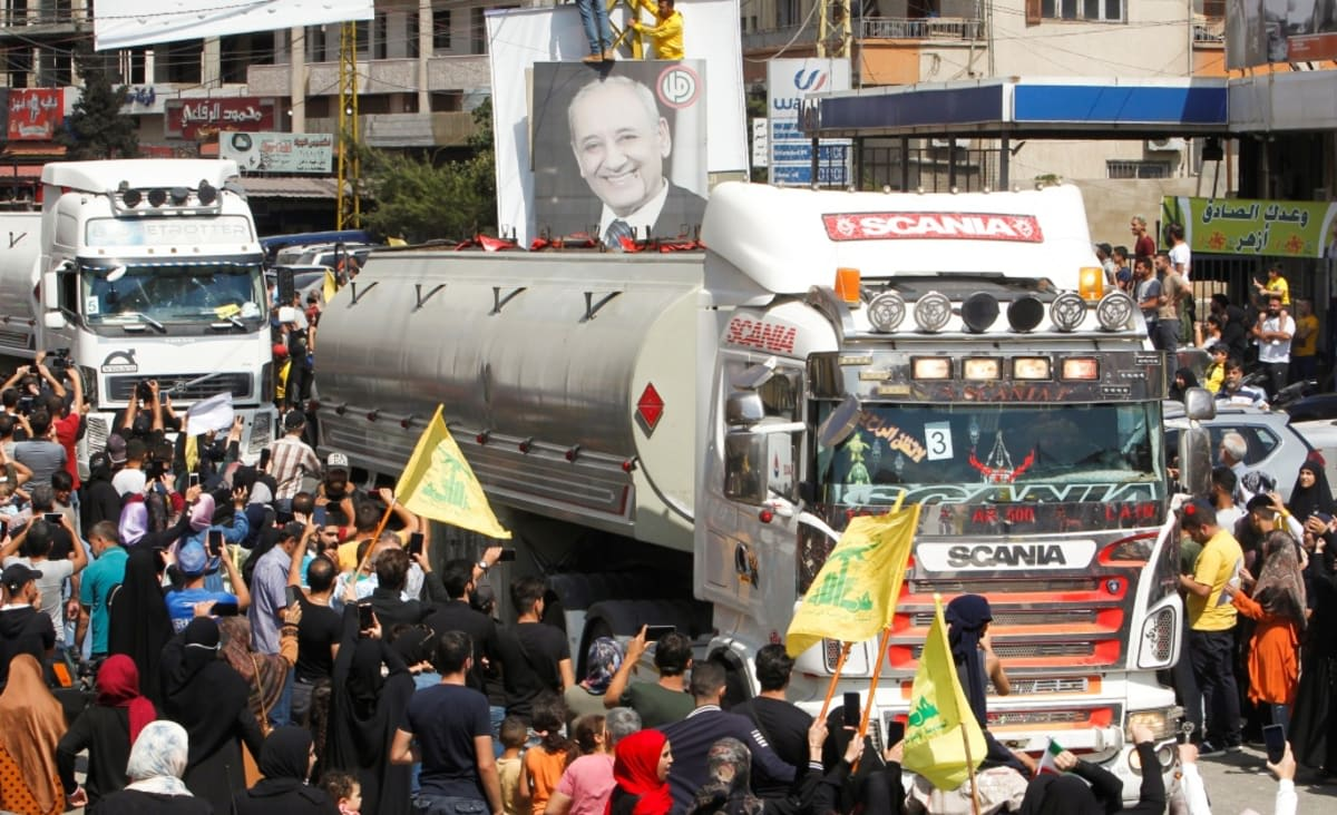 Hezbollah using fuel patronage to deflect anger, analysts say