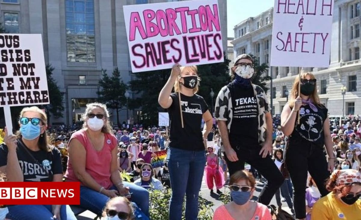 Abortion rights march: Thousands attend rallies across US