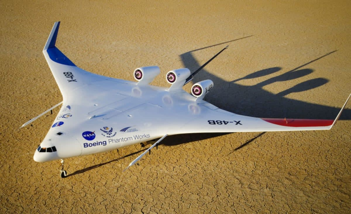 NASA's X-48 Aircraft Test Flights Promise a 'Green Airliner' For the Future