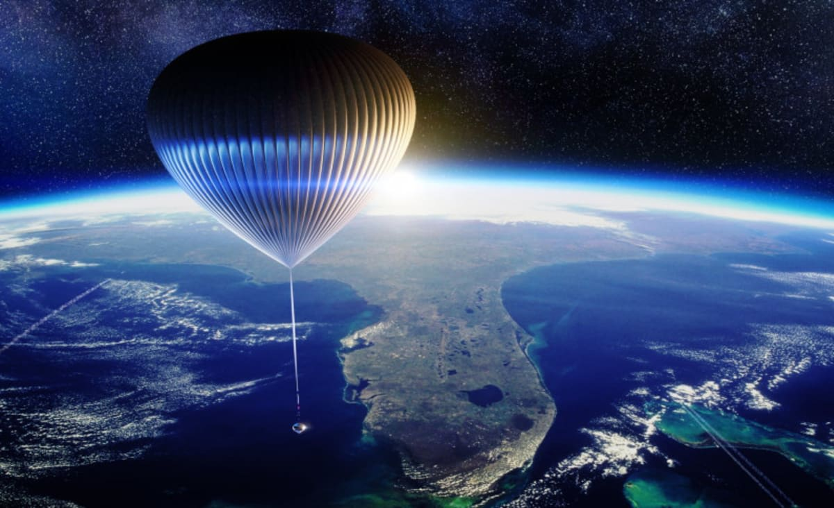 A Space Balloon Company Might Take You in Space Before Bezos and Branson