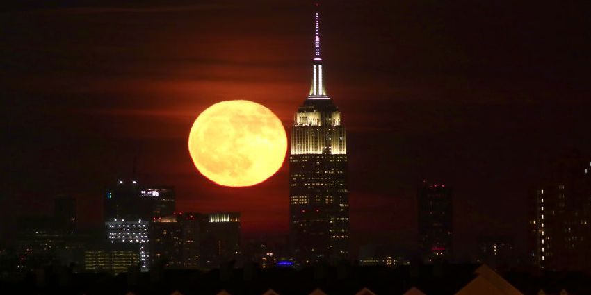 A Frost Moon Eclipse Will Be Visible in the Sky Tonight