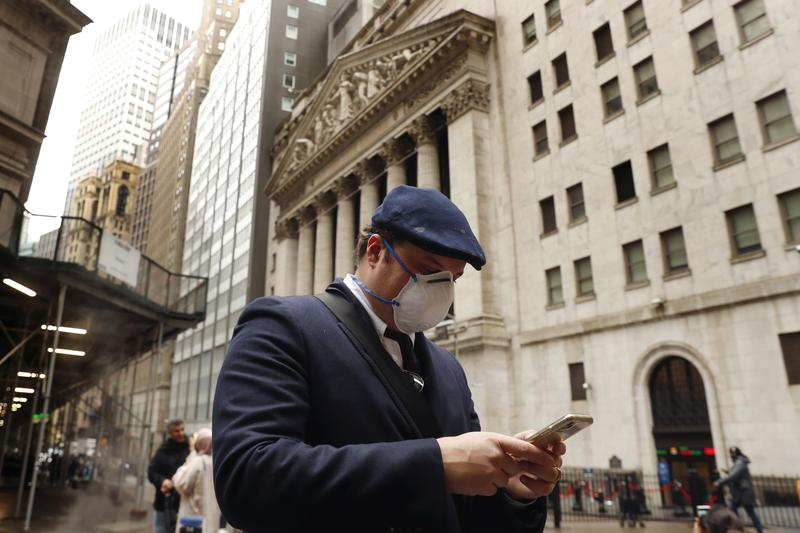 Wall Street drops as stimulus delay weighs