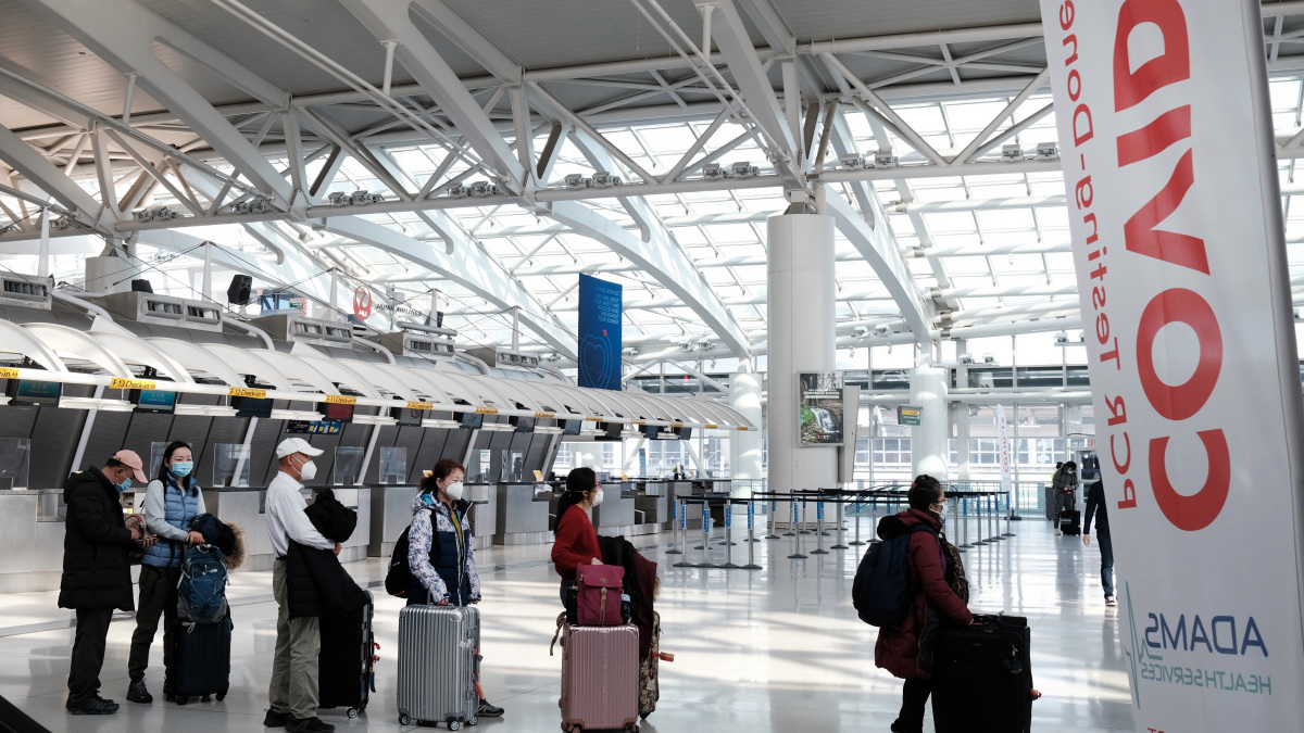 NYC Identifies 3 COVID Strains of Concern as New U.S. Flight Restrictions Take Effect