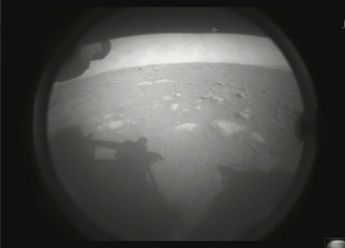 Perseverance rover successfully lands on Mars, a key step in NASA's search for signs of life