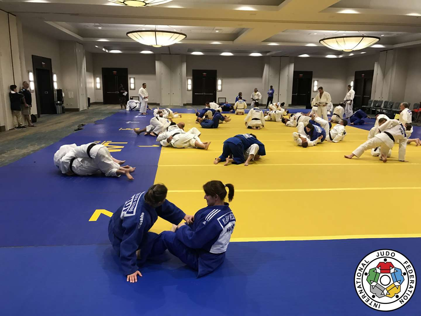 First IJF Veteran Worlds Training Camp held in USA / IJF org