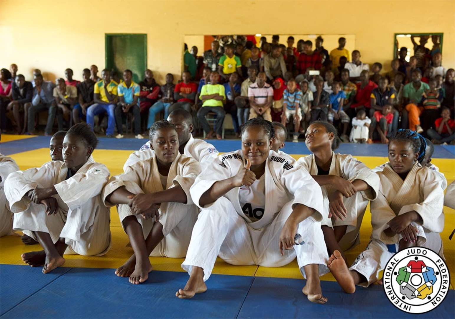 D Exhibition Zambia : Ijf successfully launches new refugee camp programme in