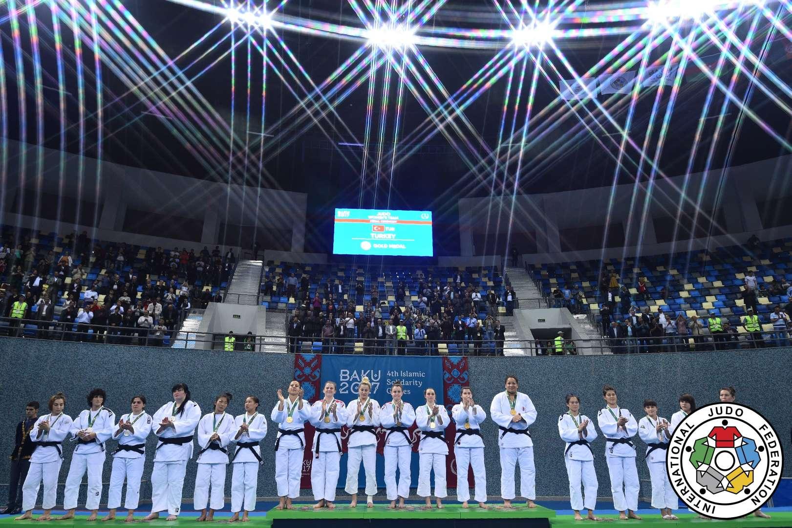 JudoTurkey - Islamic Solidarity Games, Baku 2017 – DAY THREE