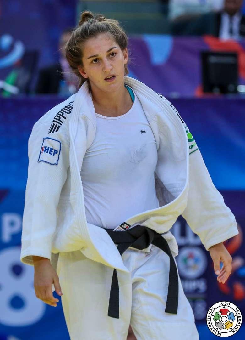 Ippon Of The Day Tina Trstenjak Judo Tina Day