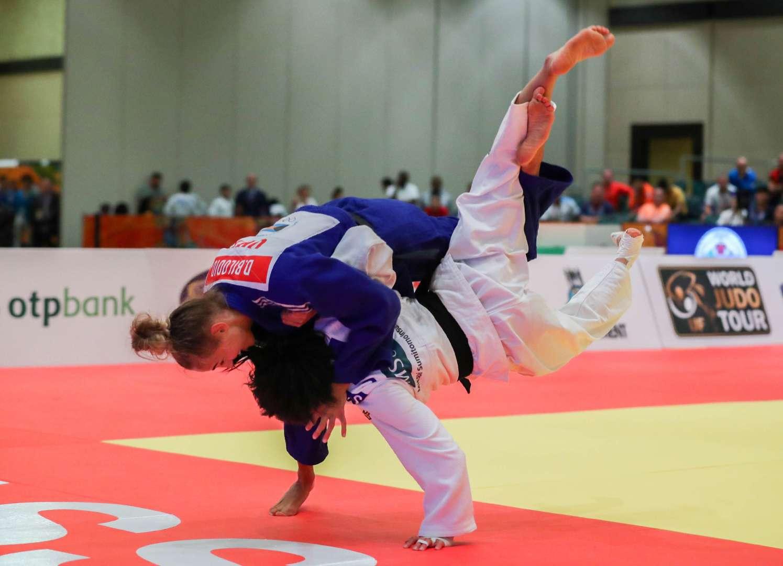 Ukrainian starlet BILODID completes set of world judo titles