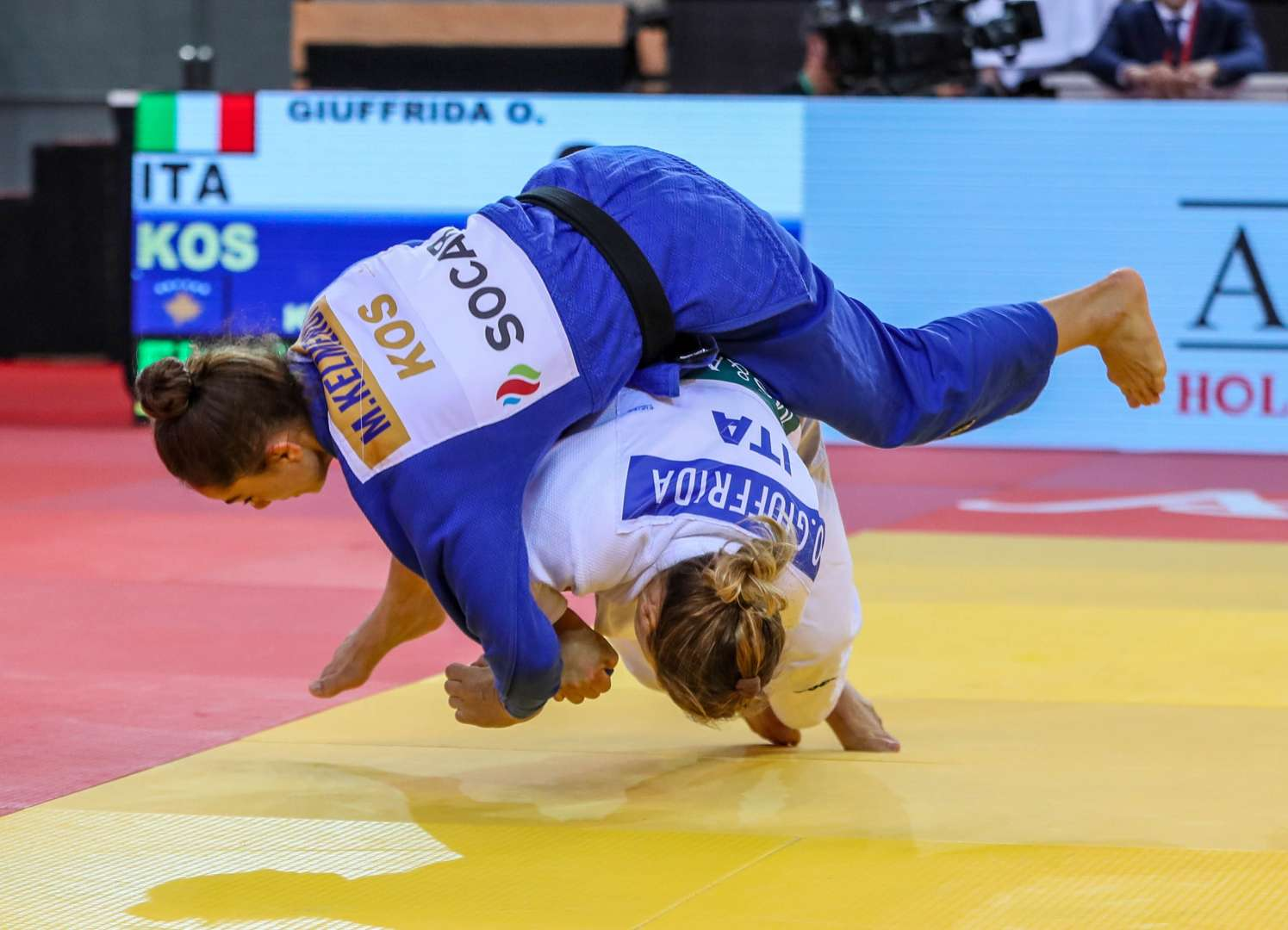 Fair play for all - judo makes history in Abu Dhabi on the eve of