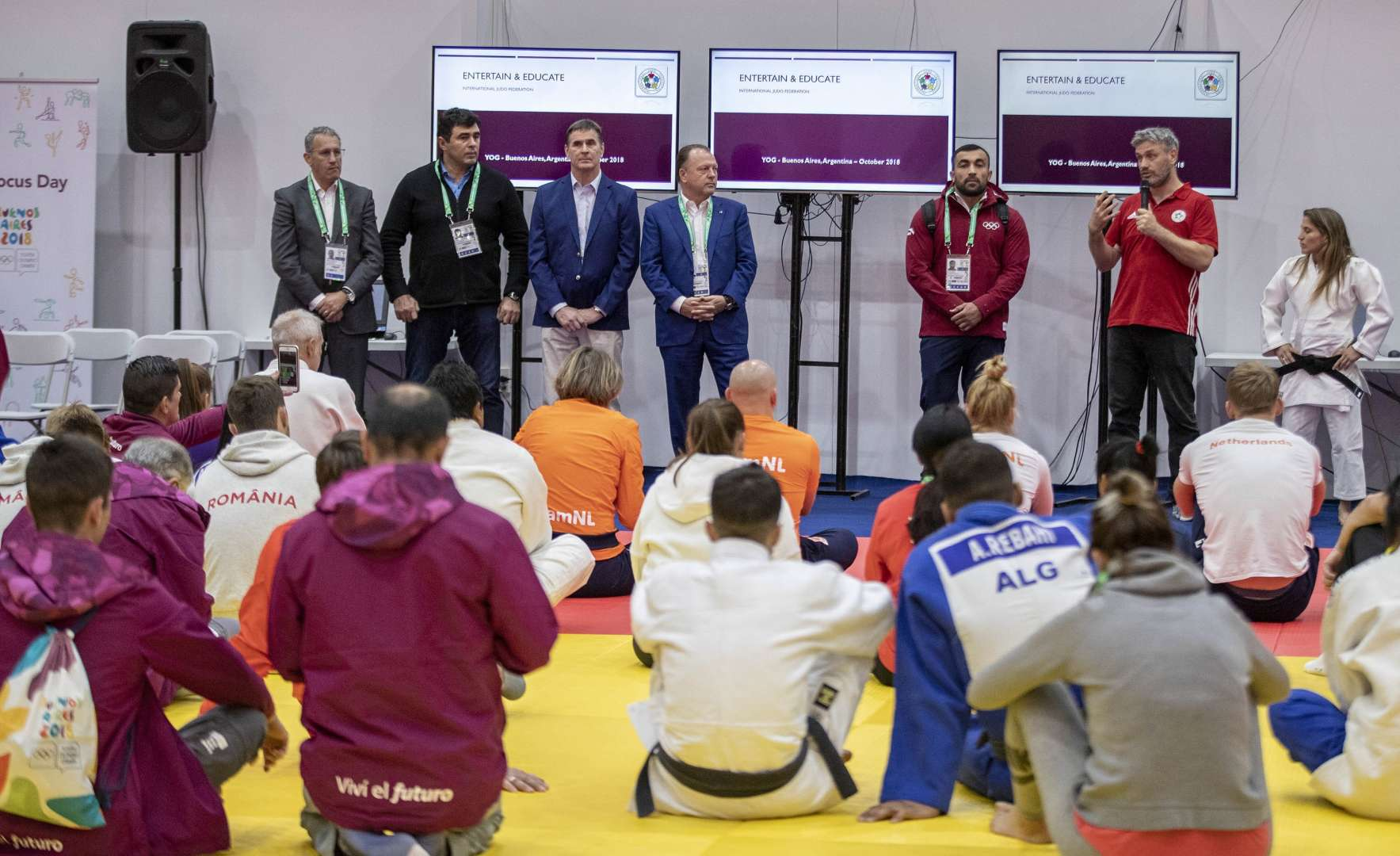YOG 2018: Entertainment and Education and Official Draw