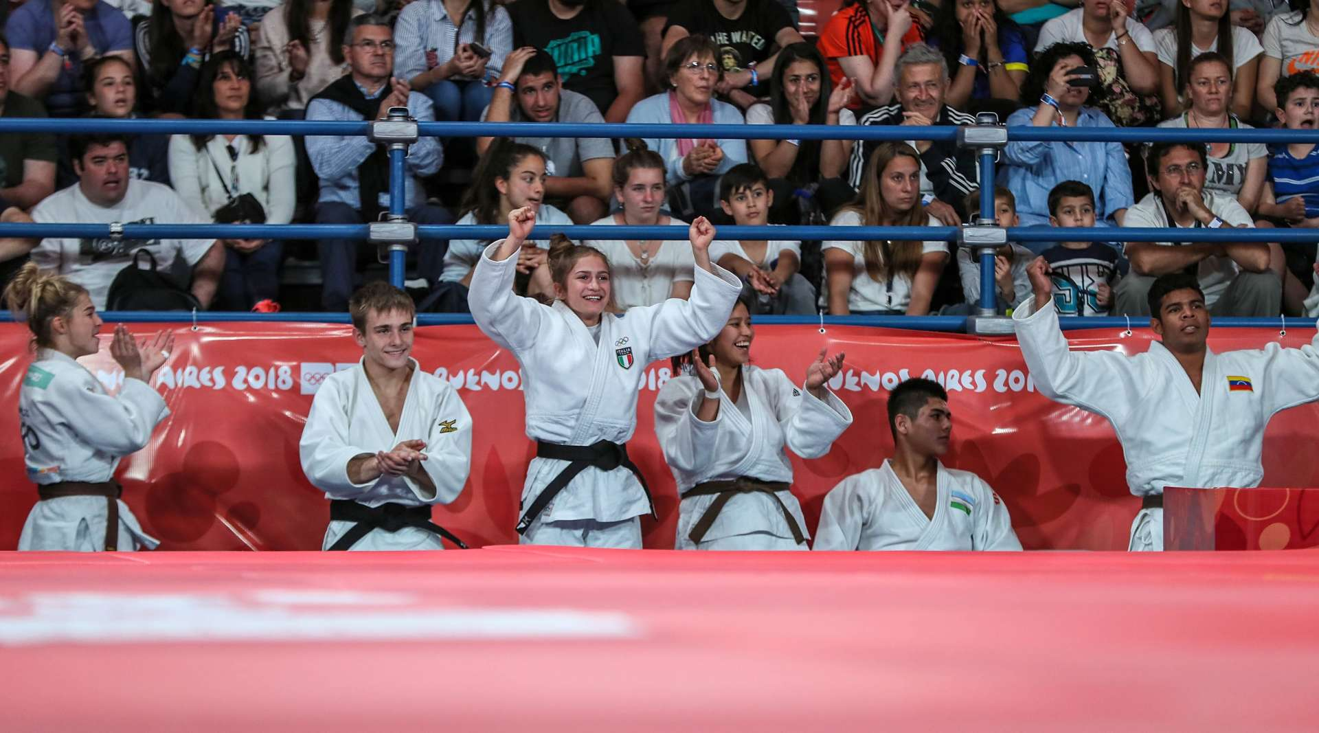YOG2018: Top Five Images around the tatami / IJF org
