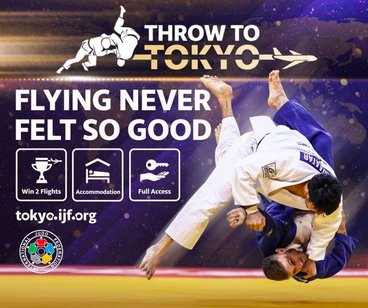 Throw to Tokyo / IJF org