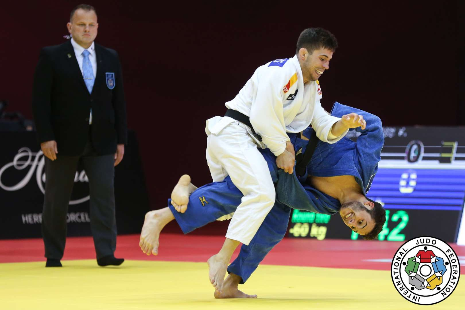 El Grand Slam de París, próxima parada de nuestros judokas en su camino a Tokio