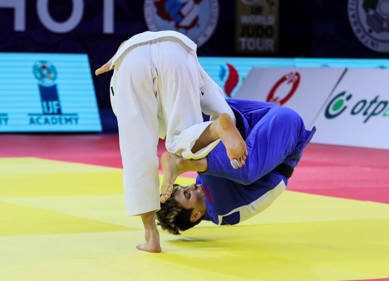World champion ABE Uta makes winning return / IJF org