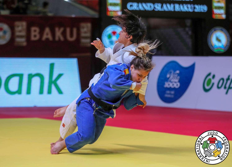 El judo español continua en racha en el Grand Slam de Baku