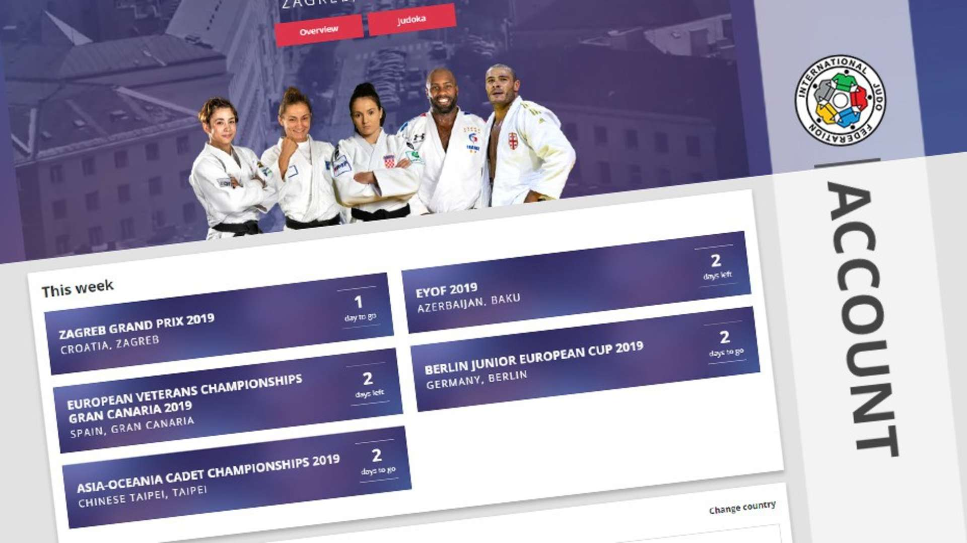 New Look Live Streaming Page To Launch On Friday Ijf Org