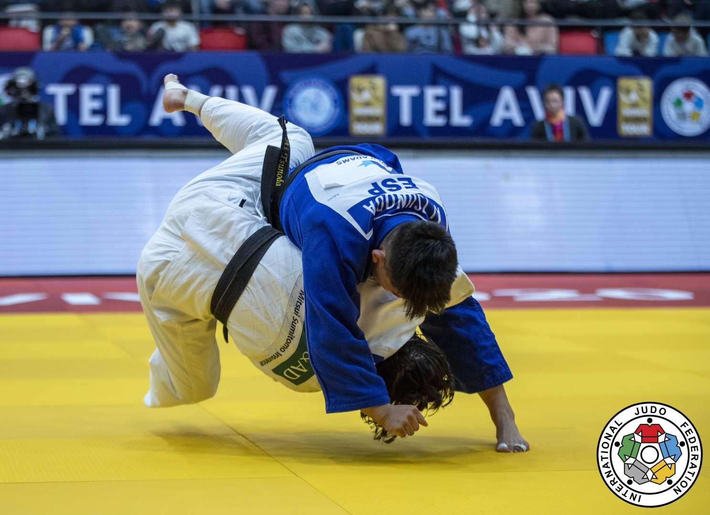 Tsunoda, la medallista del circuito más joven del judo español.