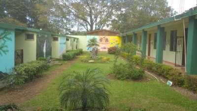 Area de dormitorios de estudiantes