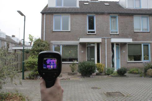 Afbeelding Warmtescan door energieambassadeurs