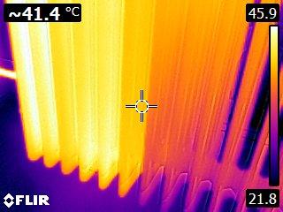 Warmtefoto radiator