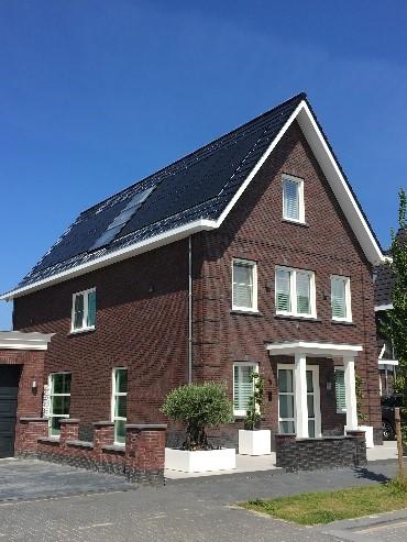 Chris zijn woning in Volendam