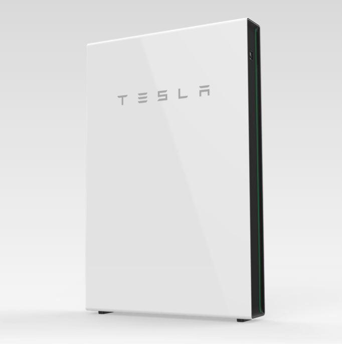 Een thuisaccu van Tesla