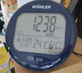 Bewust ventileren met een CO2-meter