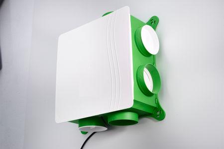 Vervangen ventilatiebox
