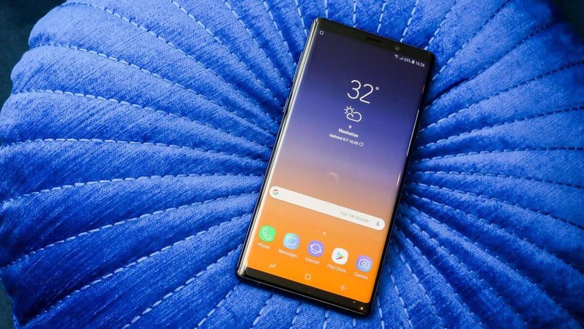 Samsung Galaxy Note 9 : Best Phones 2019