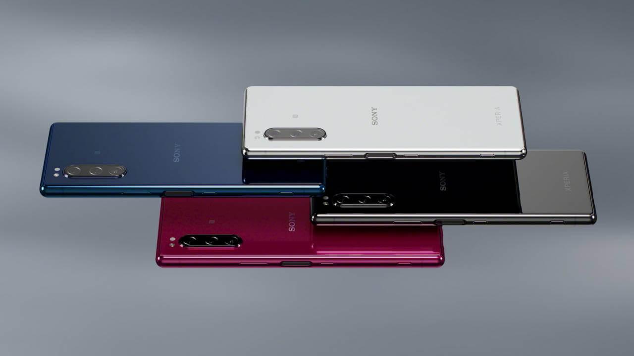 Four Sony Xperia