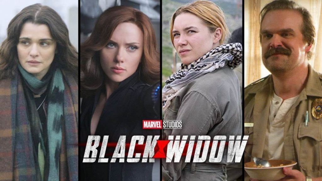 Upcoming Movies from marvel Black Widow