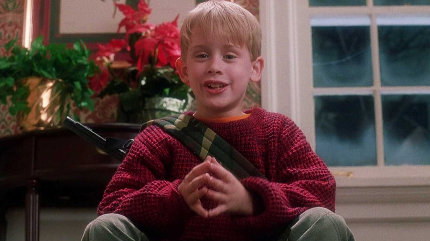 Home Alone  is best movie in the list of Best Christmas Movies